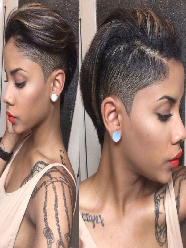 black short haircuts 2019 latest