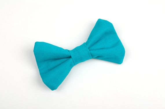 Turquoise bow tie, teal bow tie, turquoise wedding, ring bearer outfit, teal wedding, turquoise bridal party, teal bridal party, boys bow tie, toddler bow tie, baby bow tie, photo session bow tie