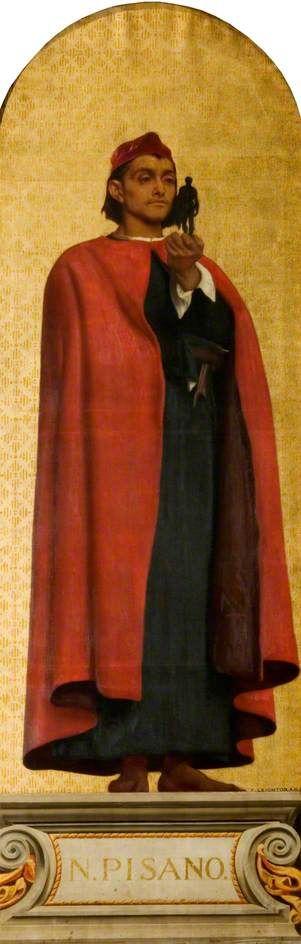 The Athenaeum - Nicola Pisano (Sir Frederic Lord Leighton - )