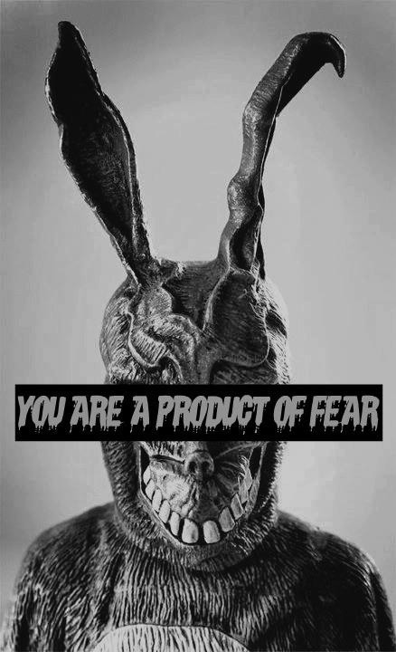 You are a product of Fear