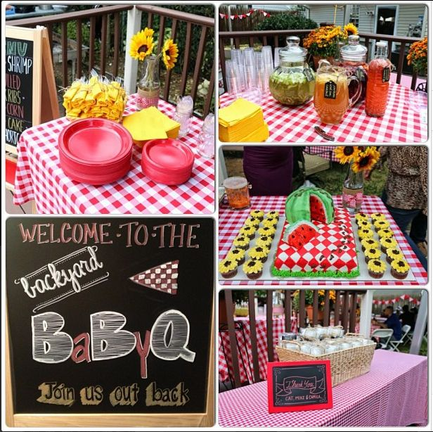 Best 25 baby q shower ideas on pinterest summer baby for Baby shower bbq decoration ideas