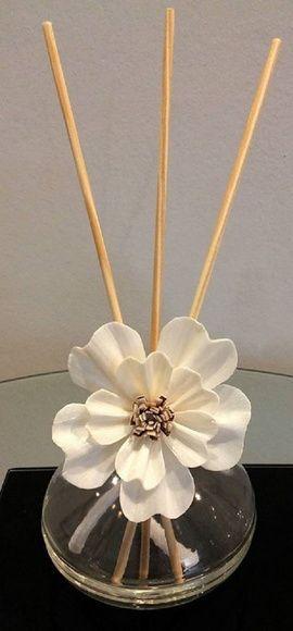 kit Difusor com varetas e flor + sabonet