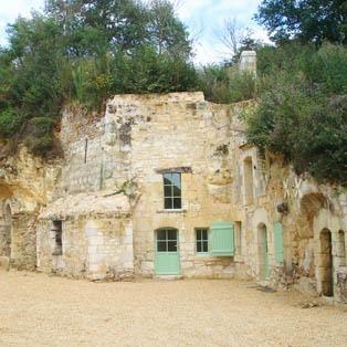 Gite location troglodytes en Anjou Val de Loire