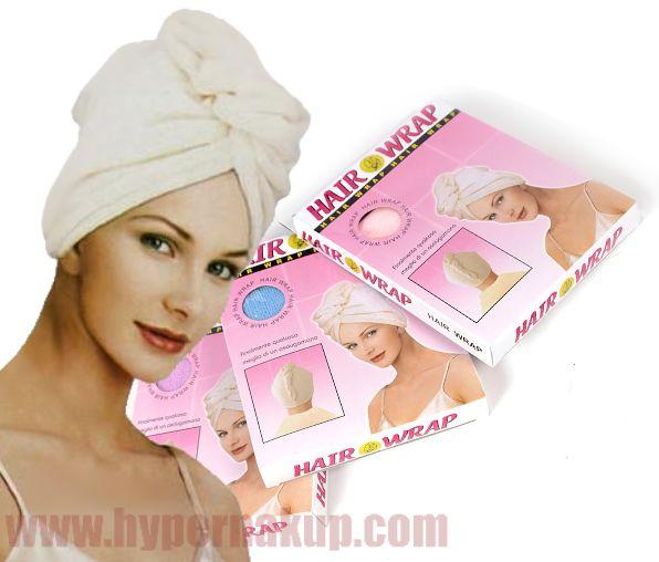 Osuška na vlasy-turban