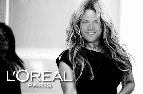 jared padalecki with short hair | funny other girl supernatural jared padalecki sam hair paris ok jared ...