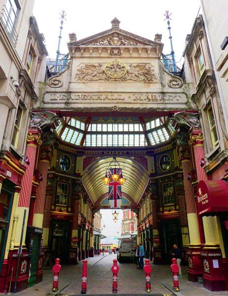 Leadenhall Market - Gracechurch Street entrance