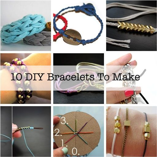 10 DIY Bracelets You'll Want to Make-