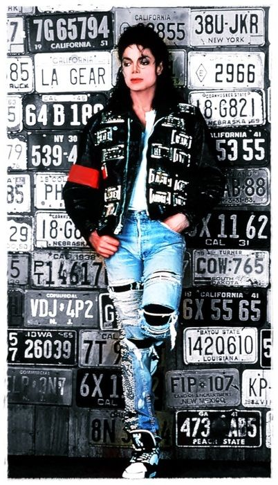 MJ, Bad era, LA Gear photoshoot