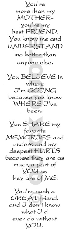 To my momma...rest in peace...I love and miss you..see you later.