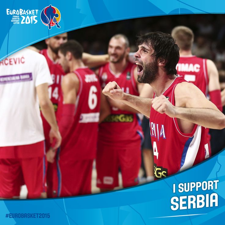 1 week to go to #EuroBasket2015!   RETWEET to support Serbia! @KSSrbije