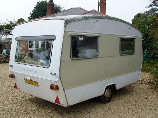 classic Sprite caravan