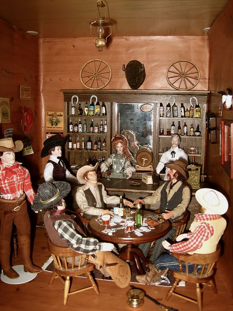 17 best images about western on pinterest the old the for A b mackie salon
