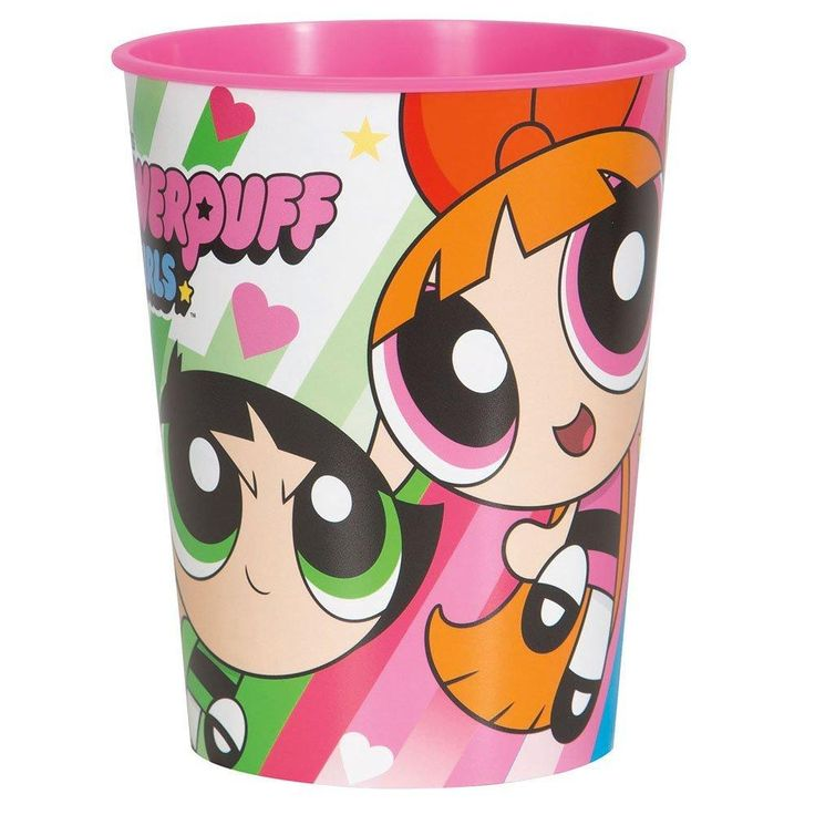 Powerpuff Girls 16oz Plastic Party Cup