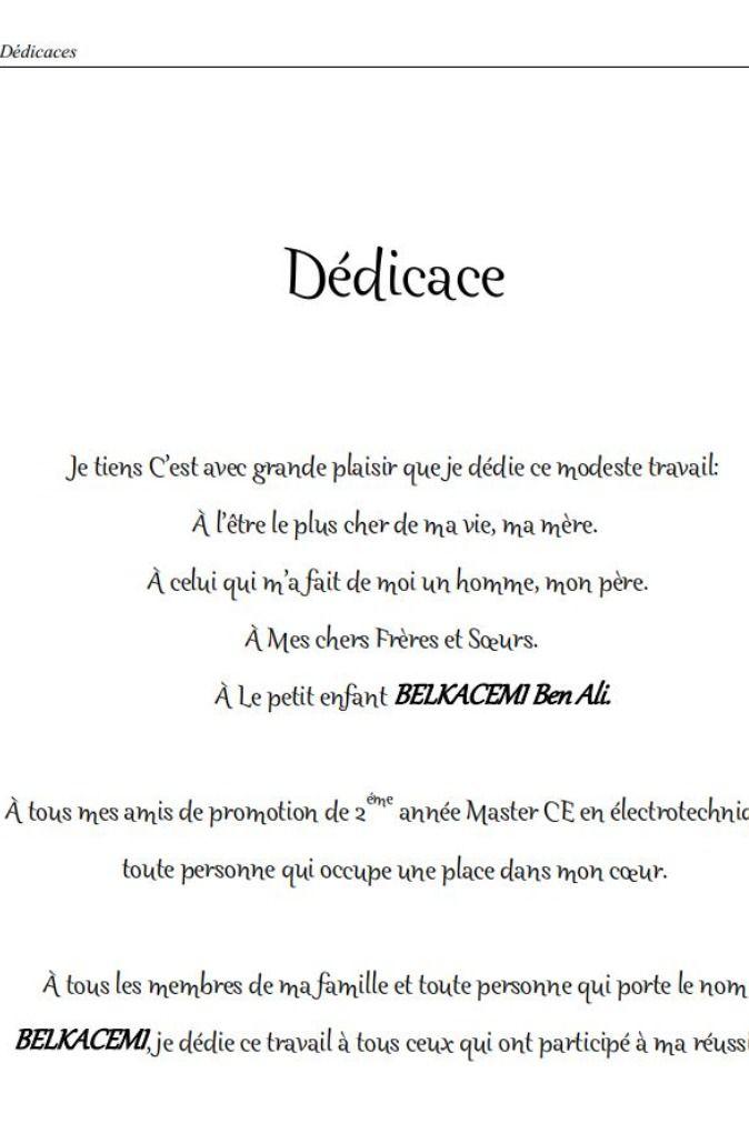 Modele De Dedicace Pour Memoire De Fin D Etude En Pdf Modele De Remerciement Remerciement Memoire Remerciement Rapport