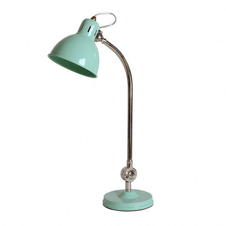 pale green retro desk lamp for my new office