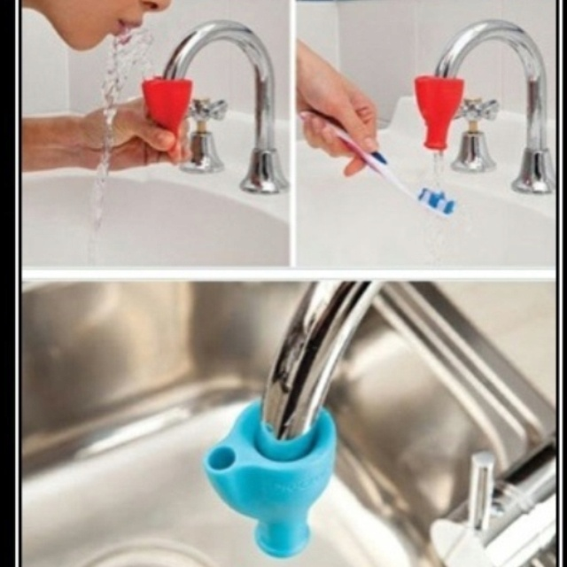 It can be a water fountain or a sink, how cool