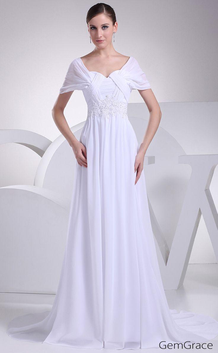 Elegant Wedding Dresses For The Mature Bride : Wedding dress with sleeves mature bride elegant
