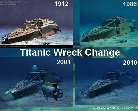 Titanic wreck on Pinterest | Titanic ship history, History ...