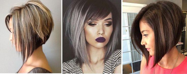 Модные и стильные стрижки на средние волосы в 2018 году: с ...