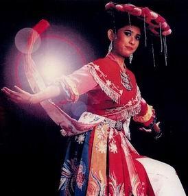 Betawi traditional dance Topeng Betawi