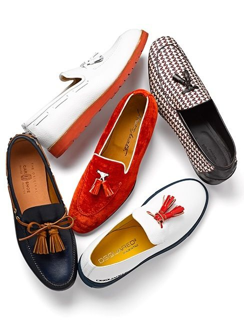 Tassel Loafers to fit your fancy - follow us on http://www.pinterest.com/proimagegroup