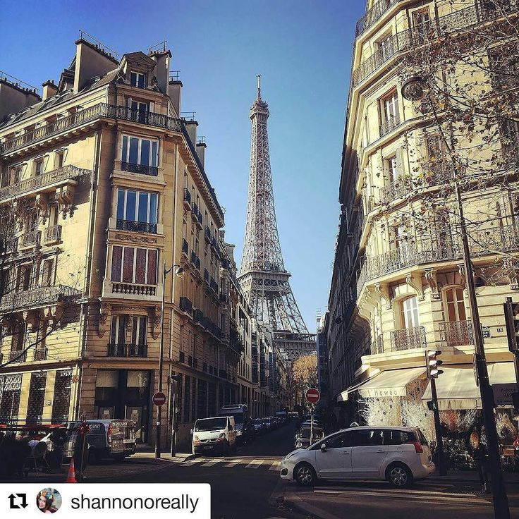 This peek of the Eiffel Tower makes us feel like we're with @shannonoreally on the adventure! She's the second winner for the week! How many of you have been to the Eiffel Tower? .... #paris #eiffeltower #europe #travel #city #explore #traveltracker #wanderlust