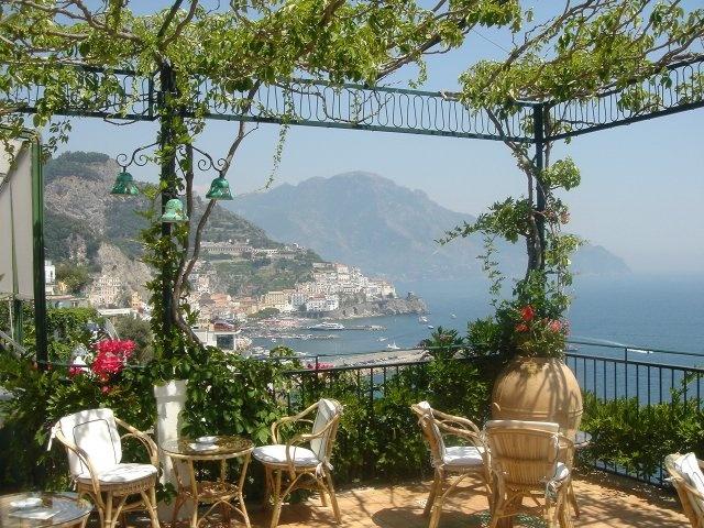 our honey moon, Hotel Santa Catarina, Amalfi