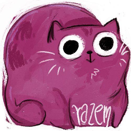 Kiciputek poprawiła nam Logo - kot prezentuje się znacznie lepiej :)  http://kiciputek.blogspot.com www.partiarazem.pl