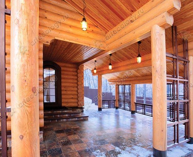 Уютная, полузакрытая терасса - Comfortable semi-closed terrace