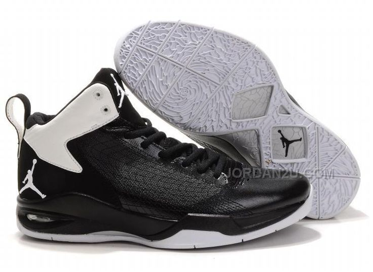 Shoes Jordan Spiderman Mens Black White Fly like Jordan