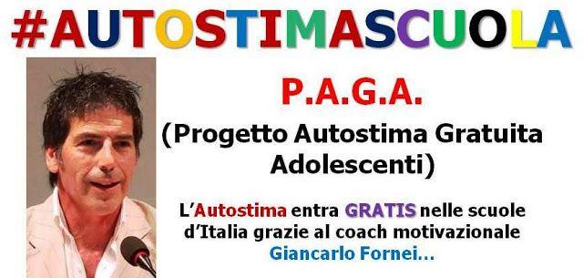 L'Autostima entra a scuola! Nasce il Progetto Autostima Gratuita Adolescenti. Vuoi ospitare una conferenza gratuita sull'autostima?