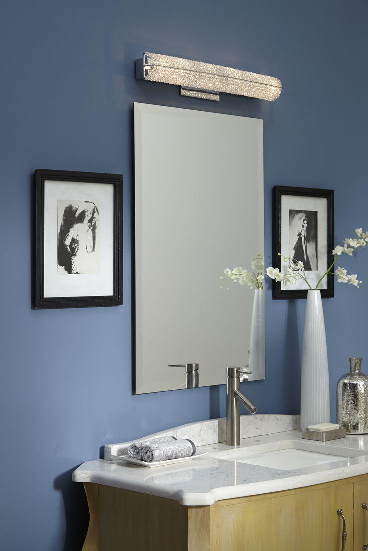 bathroom vanity lighting ideas. Quoizel Crystal Bath Lighting From The Evermore Collection - Bathroom Vanity Ideas