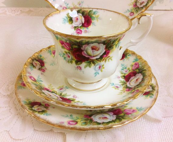"Royal Albert "" Celebration "" Tea Trio"