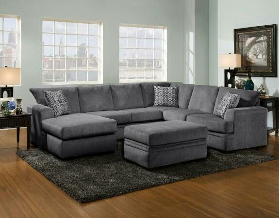 Shop For The American Furniture 6800 Sectional Sofa With Left Side Chaise  At Royal Furniture   Your Memphis, Nashville, Jackson, Birmingham Furniture  ...