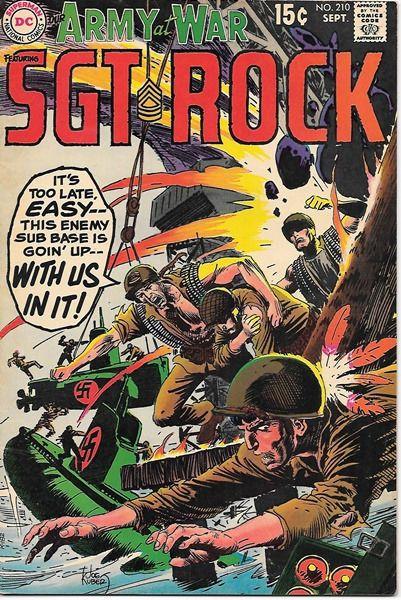 Our Army At War Comic Book #210, DC Comics 1969 FINE/FINE+ • $15.99 - PicClick