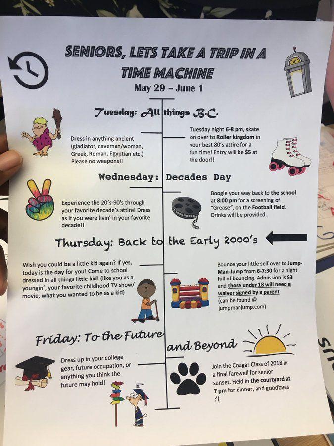 Homecoming overalls - Senior Shirts - Ideas of Senior ... |Senior Week Ideas