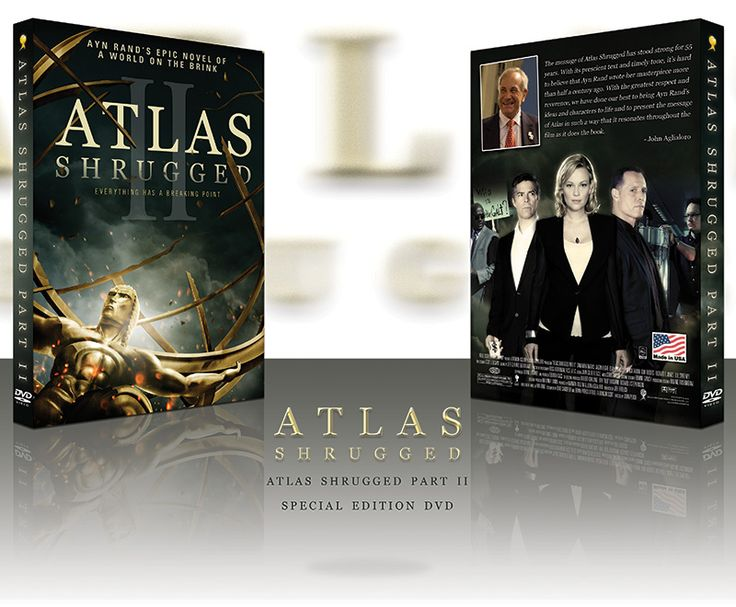 Atlas Shrugged Movie (Official Site) - Atlas Shrugged Part 2 Special Edition DVD