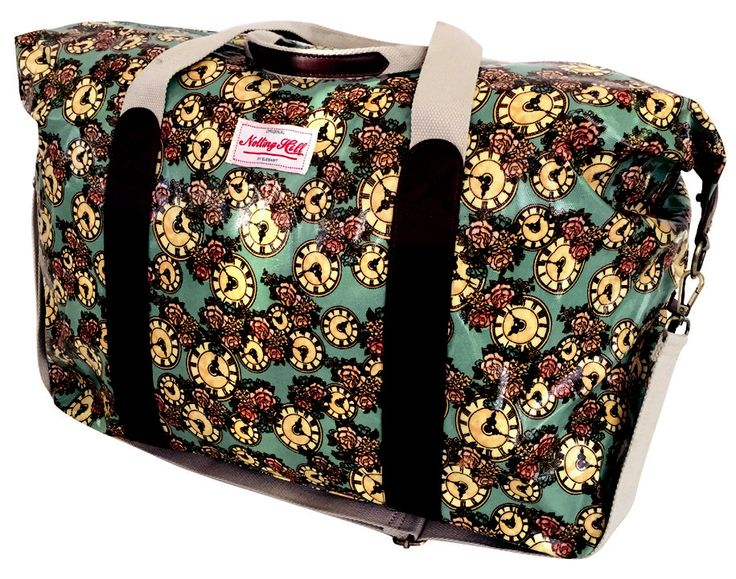 Notting Hill Large Weekend Duffel Bag @ R487 Weight: 0.72 kg  Dimensions: 48 x 20.5 x 40cm Buy Now: https://www.luggageladies.com/index.php?route=product/product&product_id=290  Features: Large Main Compartment, Twin Carry Handle, Detachable Adjustable Shoulder Sling, Front Zip Pockets, Two Back Zip Pockets, PVC Trims & Branded Zip Pullers, Printed Cotton Canvas,   Available Designs: Dots, Owls, Clocks, Floral  #LuggageLadies #MothersDay #ValueForMoney #Fashion