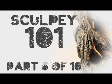 Sculpey 101 Class6 (Hand) - YouTube
