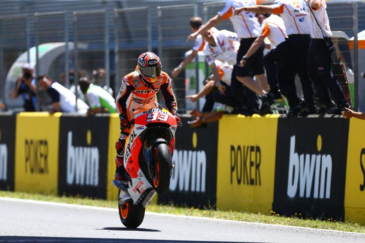Cruising across the line for his fourth straight win of the season, all from pole position, Márquez has a 100 percent record in 2014. The last rider to win the opening four rounds of a season was Mick Doohan in 1992.