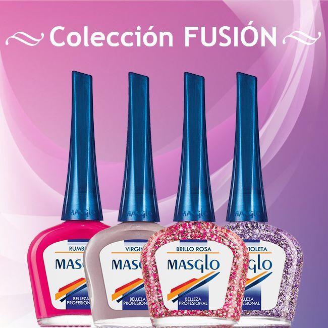 Colección Fusión #masglo #masglolovers #4free #4freestyle #nailpolish #nails #nail #nailart #nailswag #naildesign #nailartist #nailaddict #naillacquer
