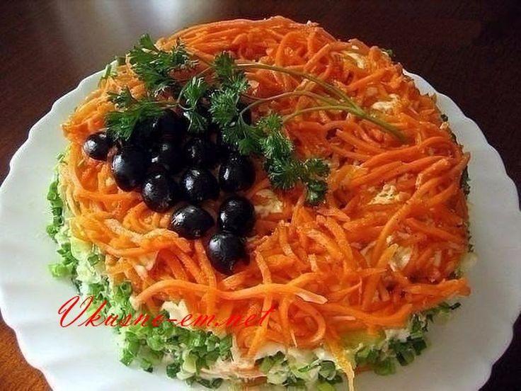 """Оригинальный салат """"Изабелла"""" без майонеза. Вот рецепт: http://vkusno-em.net/salat-izabella-bez-mayoneza/ - Рашидат Амирбекова - Google+"""