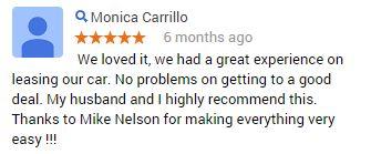 Thank you, Monica! #CustomerService #MazdaElCajon
