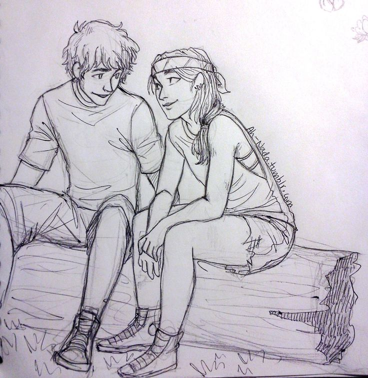 Clarrisse and Chris.. NEW FAVORITE FANART OF THEM!