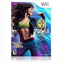 Zumba-Fitness-2-Nintendo-Wii-2011-Complete-w-Disc-In-Orig-Case-amp-Instructions