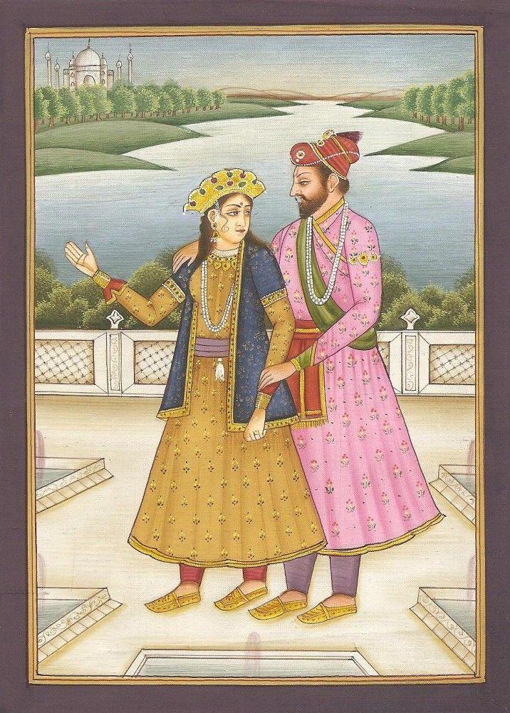 Shah Jahan Mumtaz Mahal Mughal Art