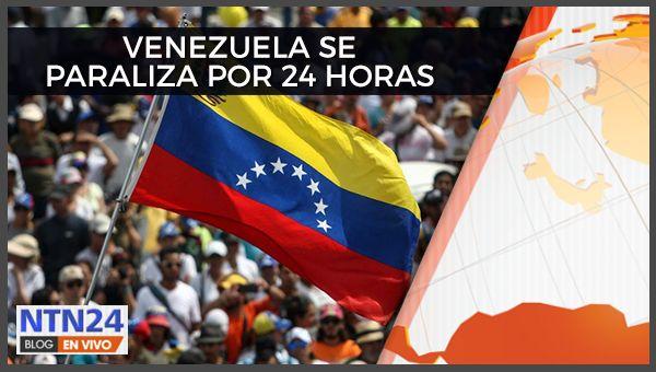 MINUTO A MINUTO | Oposición venezolana presiona al gobierno de Maduro con paro general contra la Constituyente