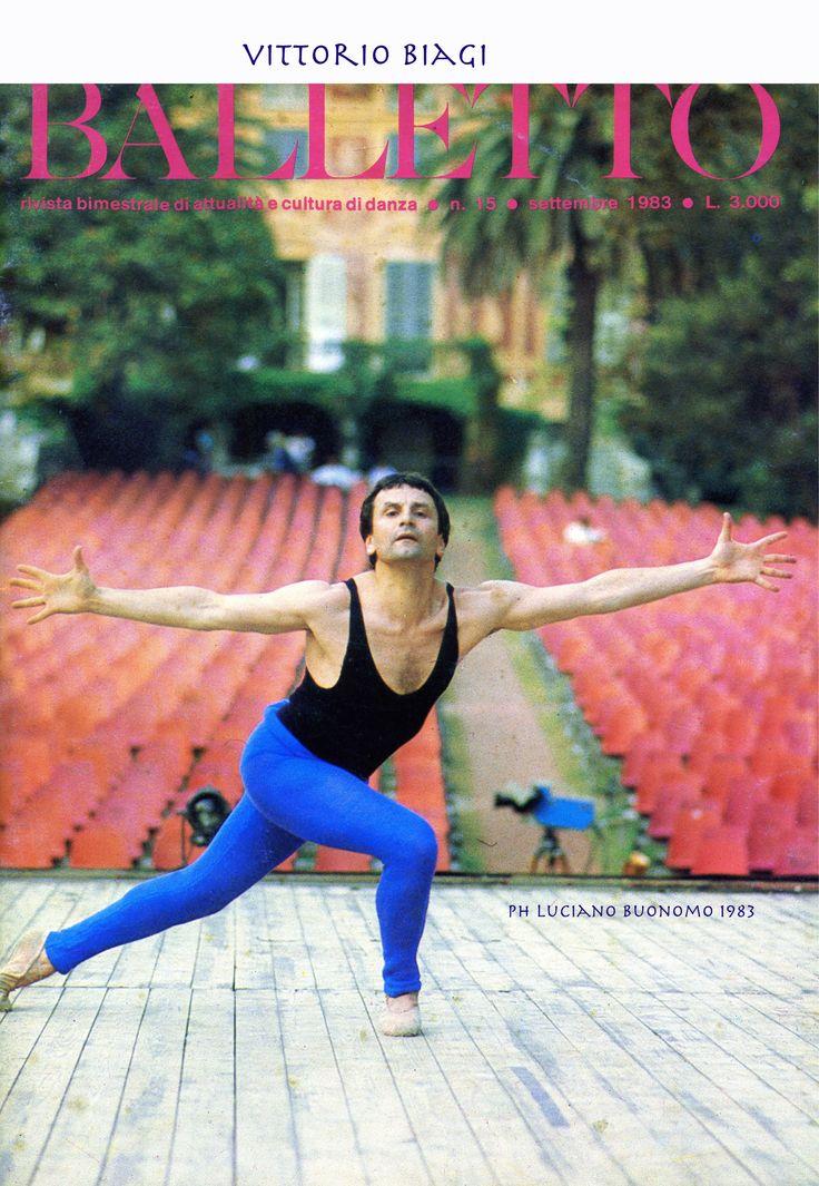 Vittorio Biagi Teatro ai Parchi di Nervi -1983 - Festival di Nervi ideato da Mario Porcile - foto Luciano Buonomo