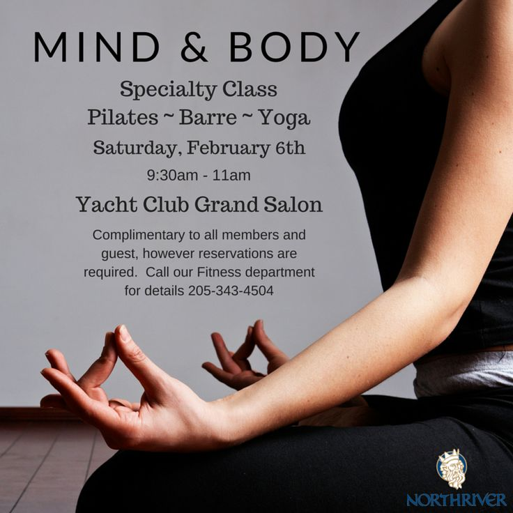 Mind Body Soul Class To Get More Information About Fitness Programs See Our Website Http Www Northriveryc Com Amenit Mind Body Pilates Barre Mind Body Soul