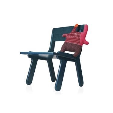 Colorful Kids Chairs with Doll by FeliFamily